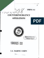 FMFM 8-2 Counterinsurgency Operations USMC, 1967