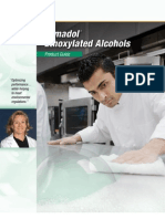 Industrial and Institutional Cleaning Tomadol Ethoxylated Alcohols Product Guide