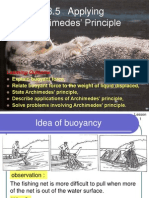 3.5 Archimedes' Principle