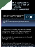 Expresión y Secreción del interferón alfa-2 por la.pptx