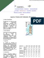 Aspectos Técnicos del Calentador JET Vertical
