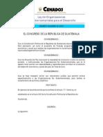 Www.oj.Gob.gt Es QueEsOJ EstructuraOJ UnidadesAdministrativas CentroAnalisisDocumentacionJudicial Cds CDs Leyes 2003 Leyes en PDF Decretos 2003 Decreto 02-2003