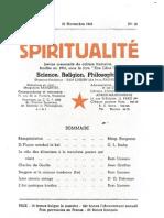 Spiritualité « Etre Libre » N° 12 (Novembre 1945)
