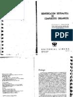 IDENTIFICACIÓN SISTEMÁTICA DE COMPUESTOS ORGÁNICOS _ SHRINER - FUSON - CURTIN.pdf