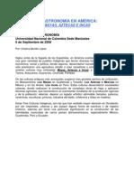 ASTRONOMÍA DE AMÉRICA