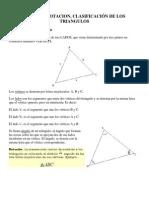 Lectura Notacion y Clasificacion de Triangulo
