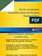 Socio Economic Concern