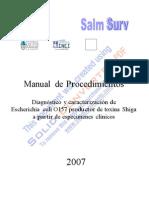 """20786570-Manual-de-Procedimientos-""""Diagnostico-y-caracterizacion-de-Escherichia-coli-O157-productor-de-toxina-Shiga""""[1]"""