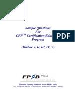 Sample Question Paper (MI, II, III, IV, V)
