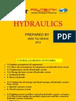 Lesson 14 - Hydraulics