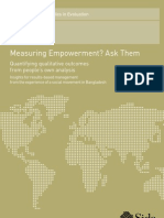 Measuring Empowerment? Ask Them