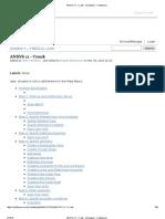 ANSYS 11 - Crank - Simulation