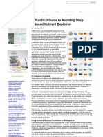 Nutrition Review - A Pratic Guide Drug Depletion Nutrient by Hyla Cass, MD