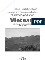 Upland rice in Vietnam