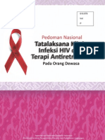 Pedoman Nasional Tatalaksana Klinis Infeksi HIV dan Terapi Antiretroviral pada orang Dewasa