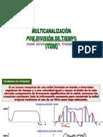 06 Multicanalización por división de tiempo (TDM)