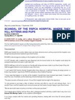 rspca hospital is a killing field