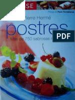 Larousse Postres Pierre Herme (1ª parte)