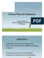 Human Physical Adaptation