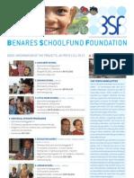 Benares School Newsletter 2013