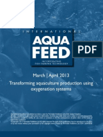 Transforming aquaculture production using oxygenation systems