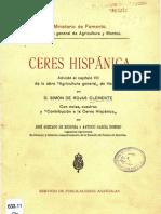 Ceres Hispanica