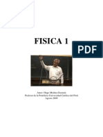 FISICA 1  Hugo Medina Guzmán