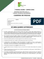 Definitiva Prova Processo Seletivo Técnico Integrado 2011.pdf