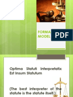 Formalist Model