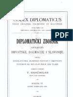Codex diplomaticus VI