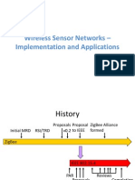 Wireless Sensor Networks – Implementation and Applications