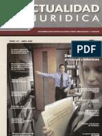 La prueba en el proceso de impugnacion de despido (Robert Del Aguila Vela - Peru)