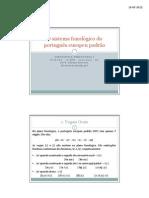 Pwp Sistema Fonologico Do Portugues Europeu Padrao