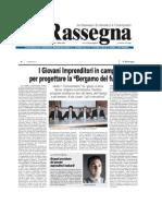 Coordinamento Bergamo Giovani La Rassegna 28.3.2013