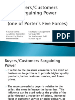 Buyers Customerrols Bargaining Power
