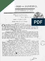 Gazeta Do Rio de Janeiro = 10.09.1808