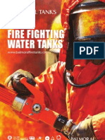 Fire Fighting Sprinkler Tanks