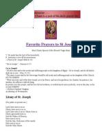St Joseph Novena Prayers