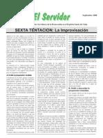 7.1 SEXTA TENTACION La Improvisación