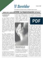 7.2 SEXTA TENTACION La Improvisación