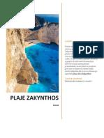 Plaje Zakynthos
