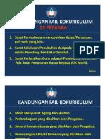 Item Fail Kokurikulum PDF