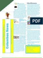 April 2013 Columbus Elementary Newsletter