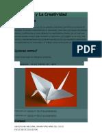 El Origami y La Creatividad