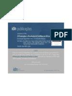 Lançamento do livro A Prevenção e a Resolução de Conflitos em África ~ Instituto de Defesa Nacional, Lisboa ~ 9 de Abril de 2013