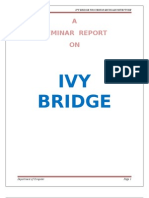 Seminar Report on Ivy Bridge