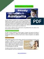 Higher Education in Australia