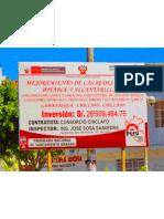 Enfoque Critico de Obra de Cambio de Redes en. Casco Central