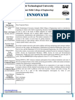 Innova'13 Sponsorship Proposal