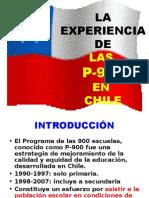 La Experiencia Educativa de las P900 en Chile